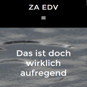 ZA-EDV